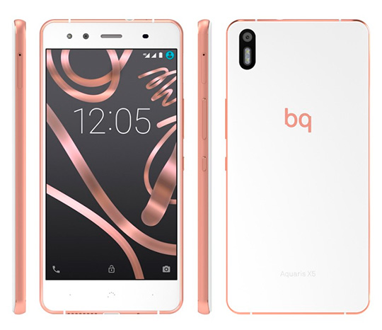 bq Aquaris x5 telecable