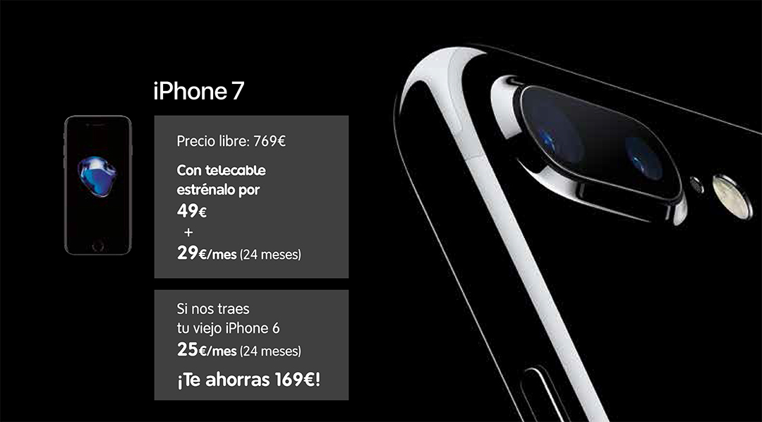iphone 7 telecable promo