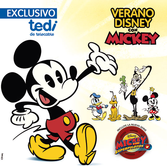 Mickey Mouse telecable