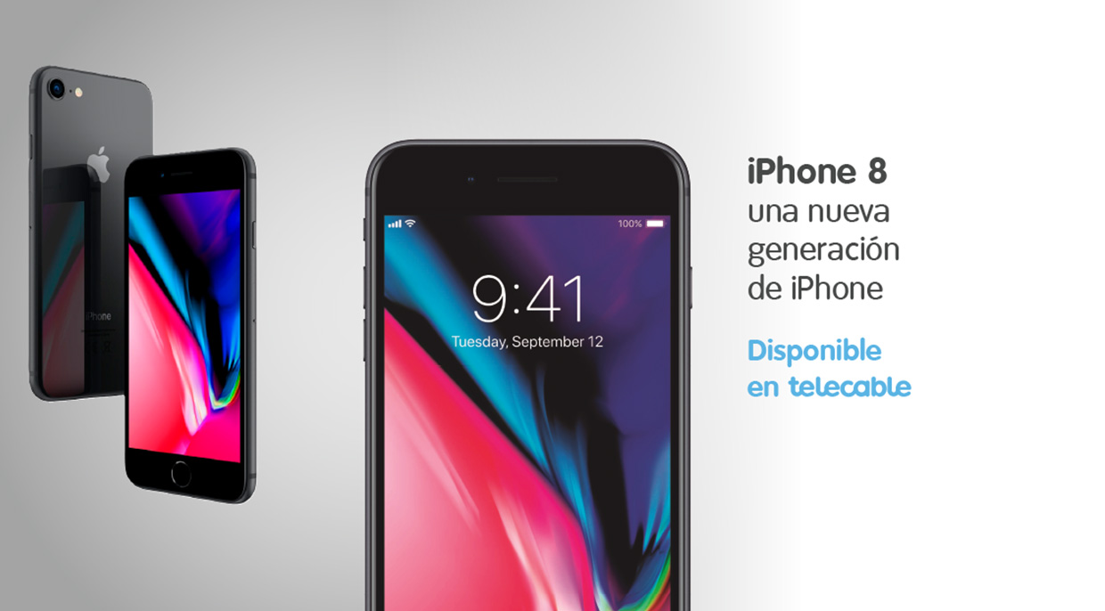 iPhone 8 y 8 Plus: vive una Navidad Apple con telecable