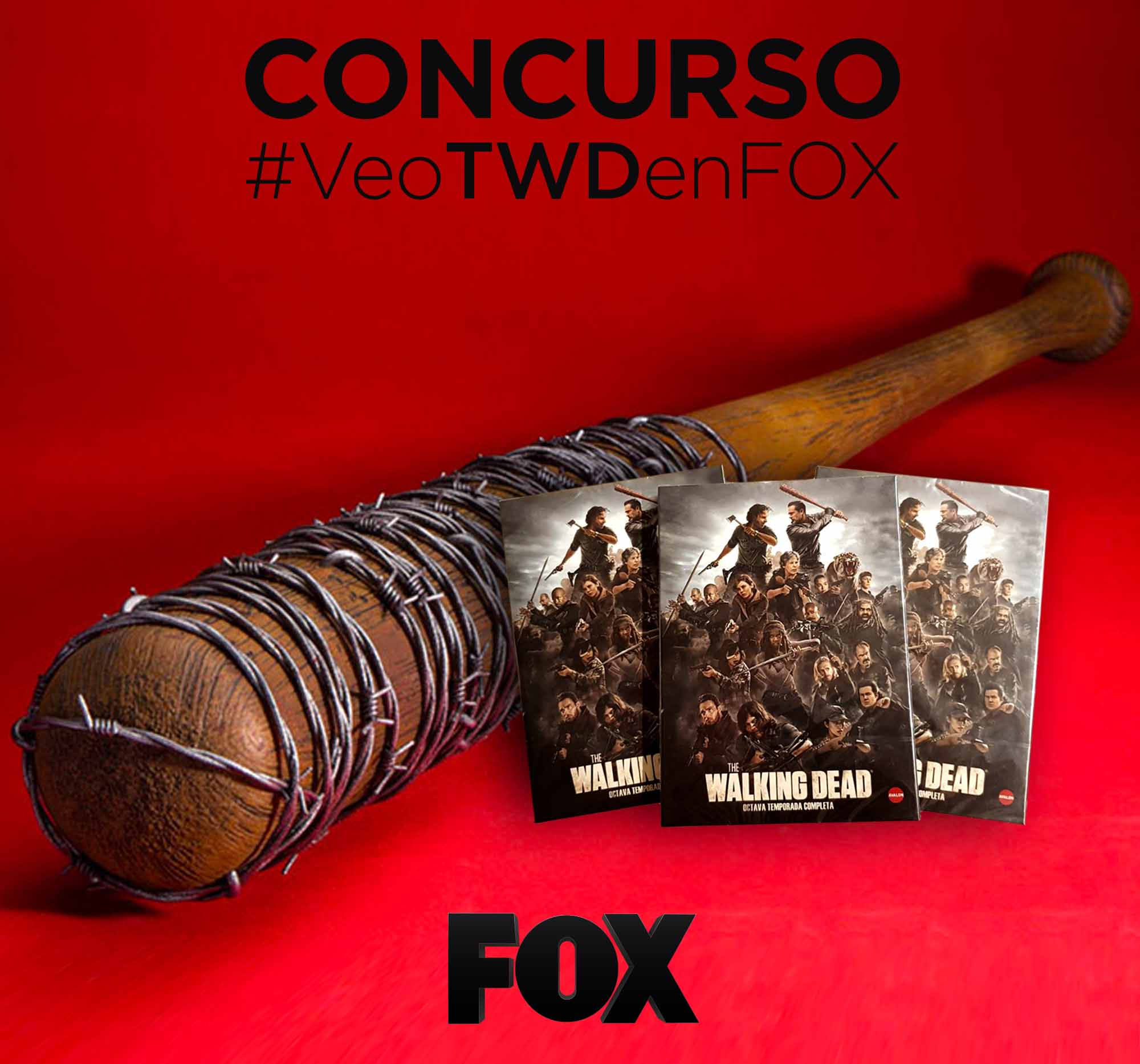 Consigue el bate de Negan, en The Walking Dead, con la app de Mitelecable